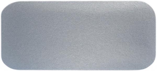 G2 Alu-Karton-Deckel eckig weiß 201x105mm 240670 R13