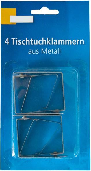 Tischtuchklammern Metall
