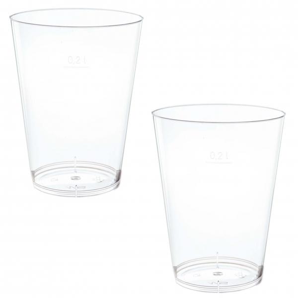 Trinkbecher Schnapsglas ps 40ml (4cl) glasklar