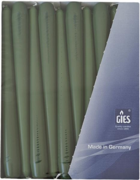 Spitzkerzen Jägergrün 250mm