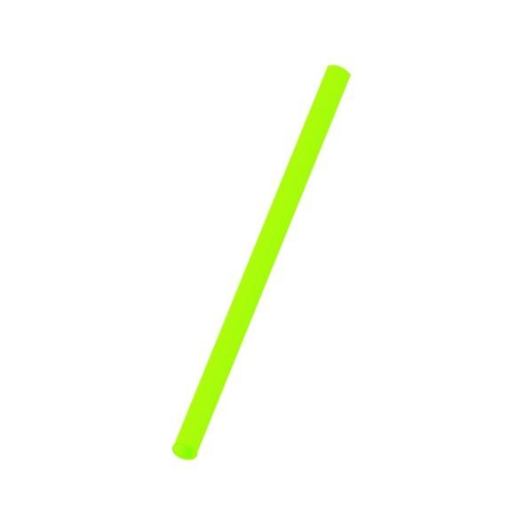 Trinkhalme starr pl grün 8x250mm
