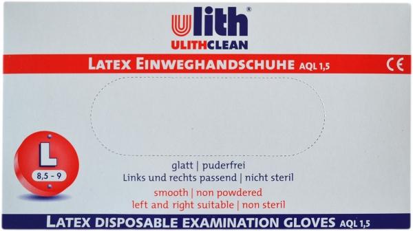 Latex Handschuhe XL Ungepudert schwarz