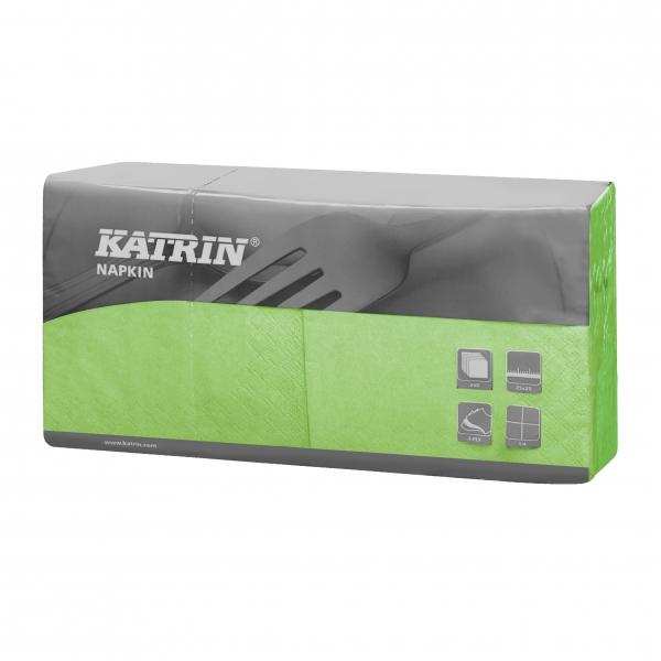 Fresh Grün Katrin Premium Servietten papier 240mm 3-lagig 1/4 Falz