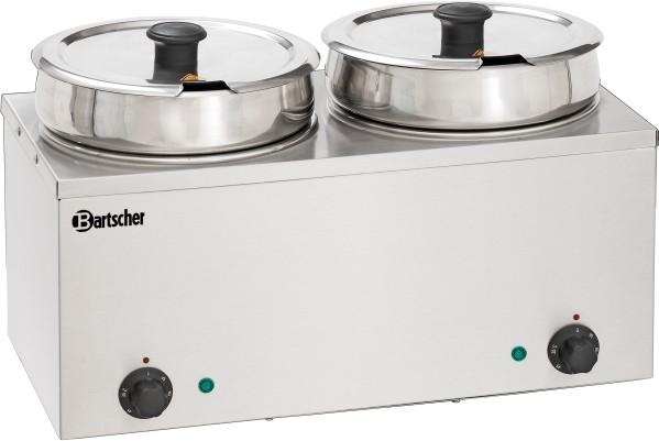 Bartscher Bain Marie Hotpot, 2x Topf, 6,5 L