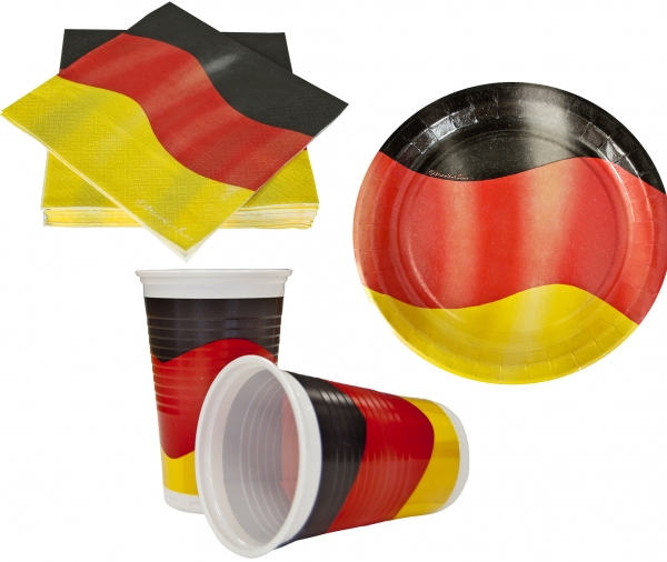 """Partyset Motiv """"Deutschland"""""""