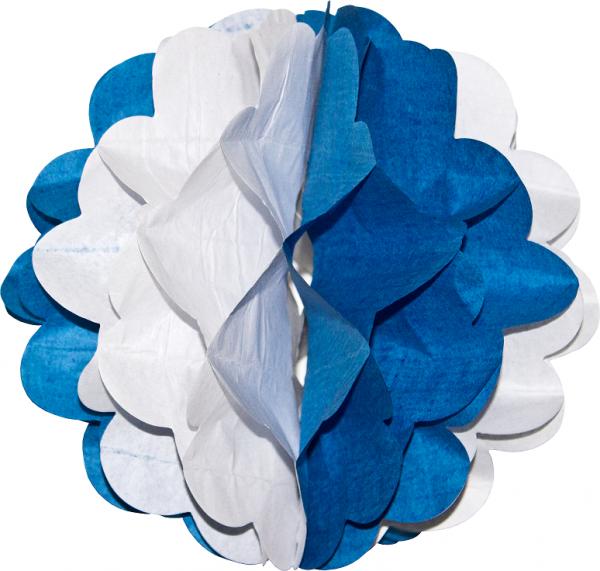 Wabenball, Ø 28cm, Bayrisch Blau