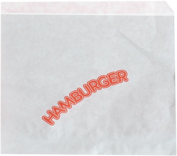 "Hamburger Beutel 160x160mm Motiv ""Detroit Red"""