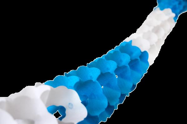 Girlande Bayrisch Blau 3,2m