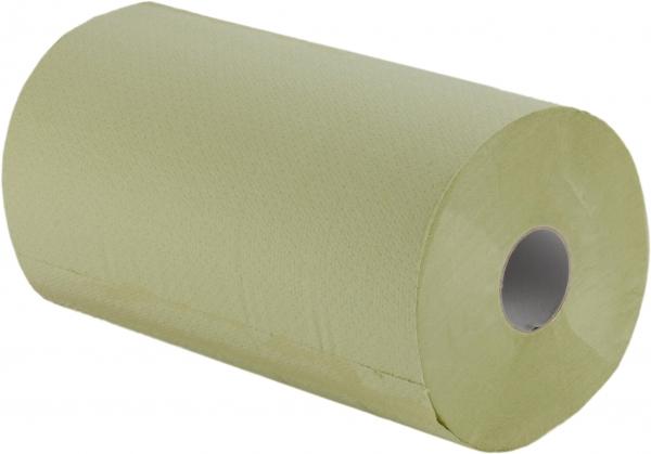 Handtuchrollen, 2-lagig, 23cm, 57m, grün, Kern 4cm mit Spezialkern - nur für markenfreie Spender -