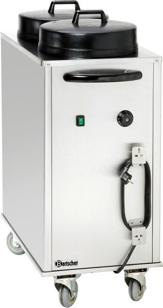 Bartscher Tellerspender, 2x50 Teller, 2,0kW