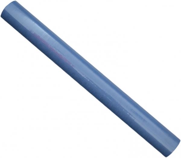 Tischdecke papier 1000mmx50m blau mit feiner Damastprägung