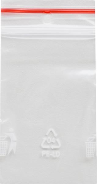 Druckverschlussbeutel 2 - 50x70mm LDPE transparent