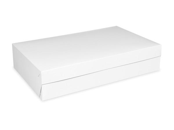 Tortenkarton pp 1-teilig weiß, 450x300x100mm