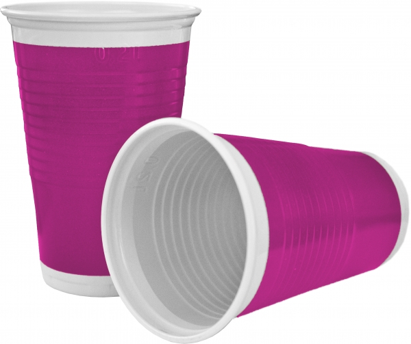 "A2 Trinkbecher pl 200ml mit Motiv ""Pink"""