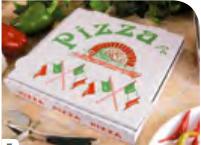 "T3 Pizzabox ppk 240x240x42mm mit Motiv ""NYC Kraft"""