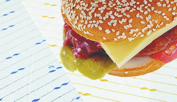 Hamburger Papier 250x330mm Motiv Orange