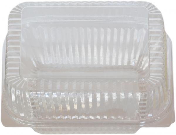 Klarsichtbox eckig ops transparent 130x130x70mm mit Deckel