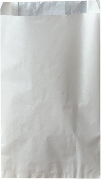 Faltenbeutel PE weiß 200x70x320mm