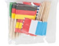 Z1 Dekopicker pl Länderflaggen 65mm sortiert