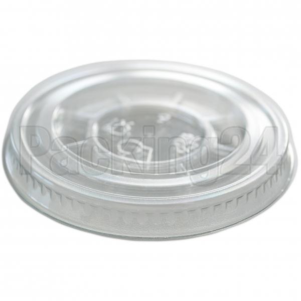 Smoothie Cups Flachdeckel geschlossen pet transparent