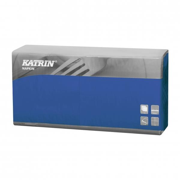 Blau Katrin Premium Servietten papier 400mm 3-lagig 1/4 Falz