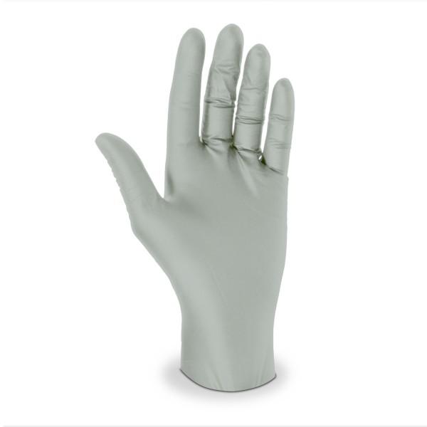 Nitril Handschuhe Größe XL Ungepudert grau
