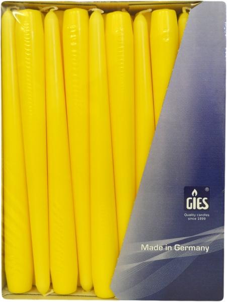 Spitzkerzen Gelb 250mm