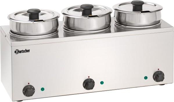 Bartscher Bain Marie Hotpot, 3x Topf, 3,5 L