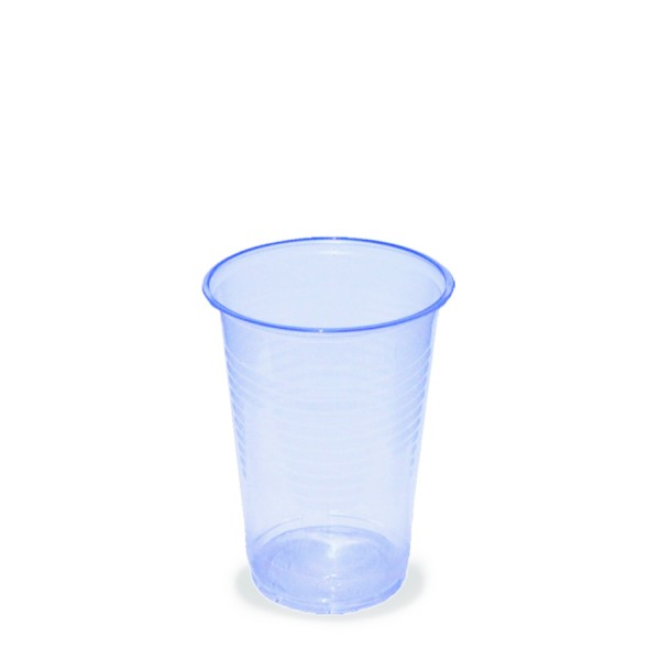 Trinkbecher pl 200ml Wasserbecher Blue Cup