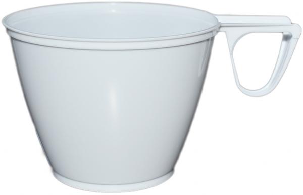 Coffee To Go Tasse pl weiß 160ml