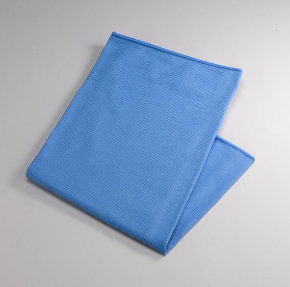 Microfasertücher Universal Glaspolier- und Bodentuch blau, 50x60cm - 10x20 Stück
