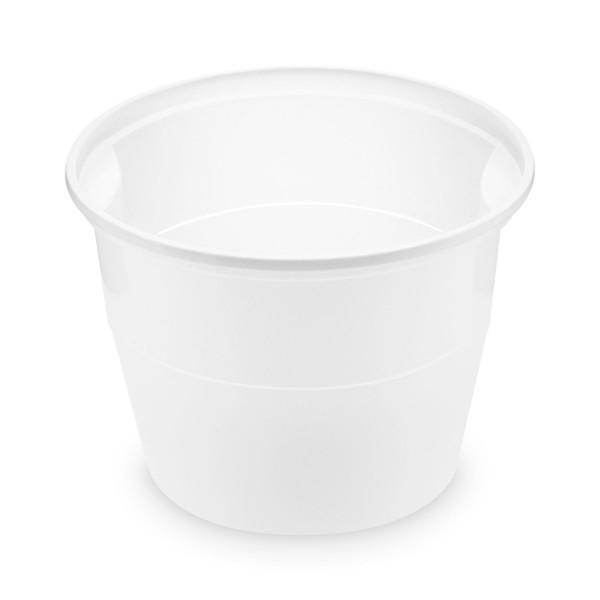 Suppenbecher 750ml (PP), rund, weiß , Ø oben 127mm