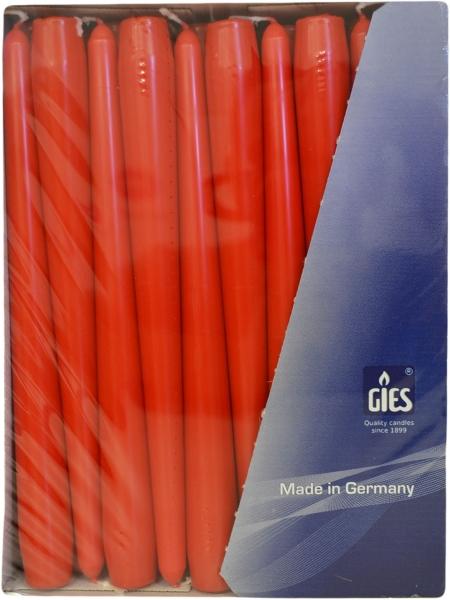 Spitzkerzen Rot 250mm