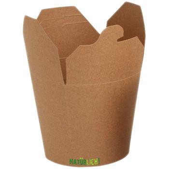 Food Box ppk braun Kraft 16oz