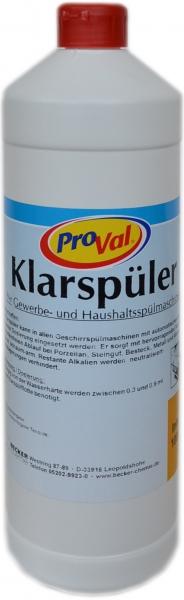 Klarspüler Profi für Spülmaschinen 1L
