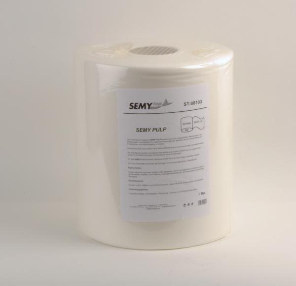Airlaidtücher, Vließtücher / Rollen Semy Pulp Putztuch, 29x37 cm, 300 Blatt - 1 Rolle