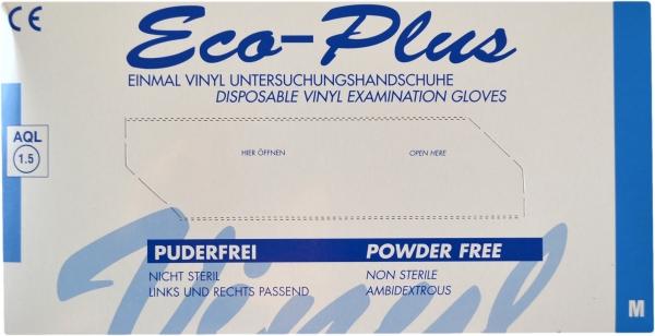 Vinyl Handschuhe M Ungepudert transparent