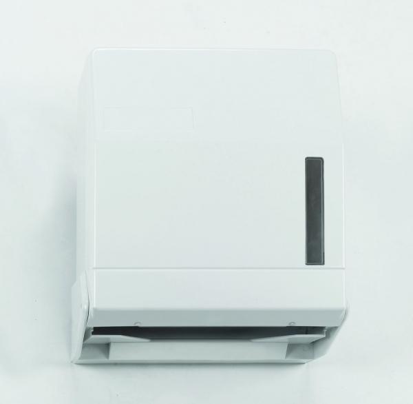 Spender für Papierhandtücher 320x285x130mm, 600St., weiss - 1