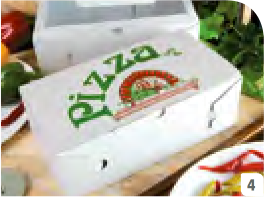 "Pizzabox Calzone ppk 270x160x70mm mit Motiv ""NYC Kraft"""