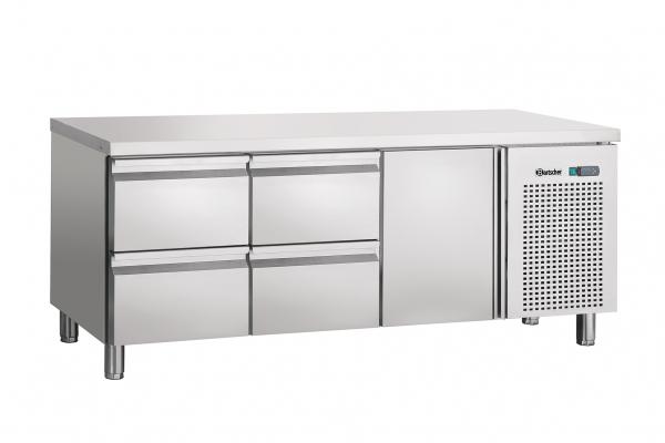 Kühltisch, Umluft,1T,4SL