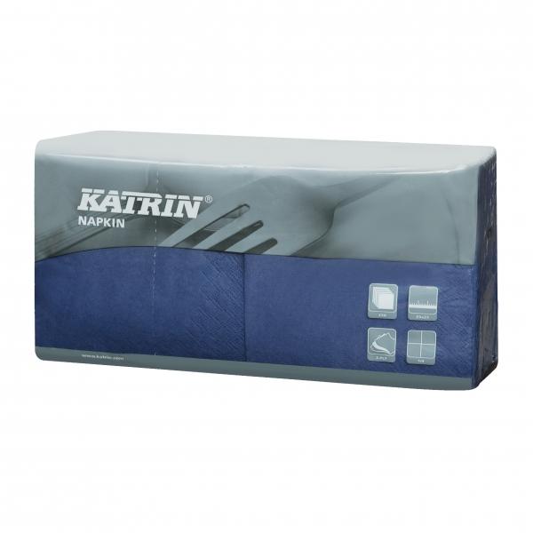 Blau Katrin Premium Servietten papier 240mm 3-lagig 1/4 Falz
