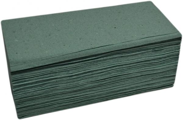 Papierhandtücher 1-lagig grün 250x230mm ZZ-Falz