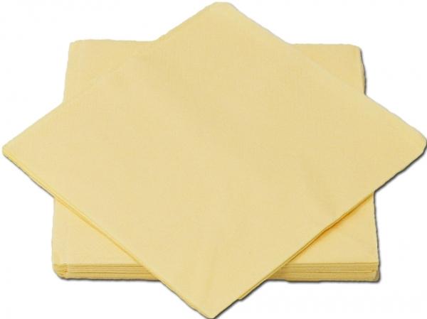 Creme Premium Servietten papier 330mm 3-lagig 1/4 Falz
