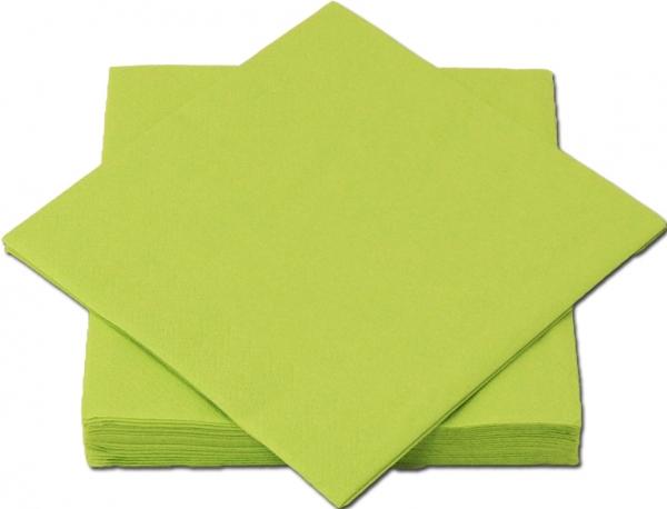 Maigrün Premium Servietten papier 330mm 3-lagig 1/4 Falz