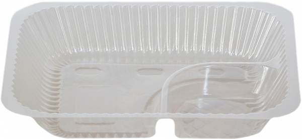 Nacho-Tray pl transparent 200x158x37mm