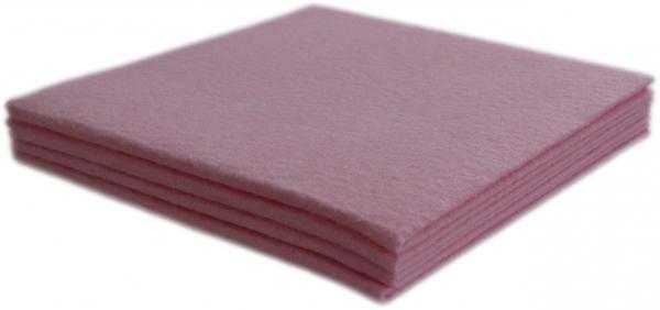 Allzwecktuch Vlies Profi 380x380mm rosa