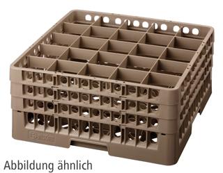 Bartscher STL Gläserkorb, 25 Fächer
