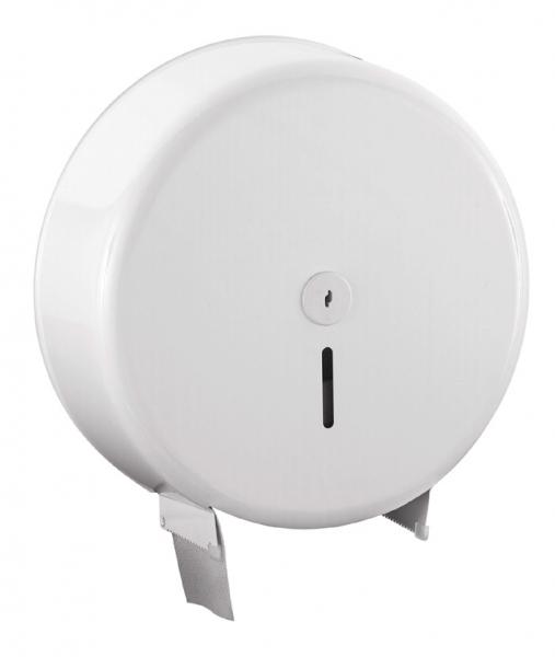 Spender für Toilettenpapiere 360x370x120mm, Jumbo 32cm, Inox - 1