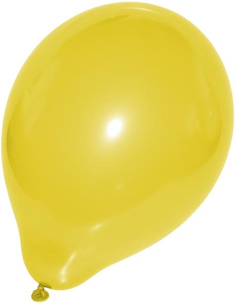 Luftballons gelb 250mm