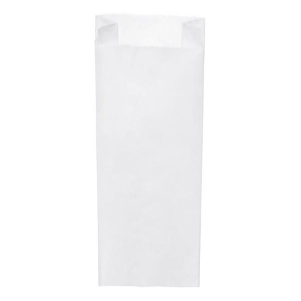 Papier Faltenbeutel weiß 3 kg (15+7 x 42 cm)